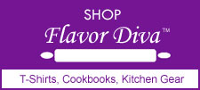 Shop Flavor Diva - T-Shirts, Cookbooks, Kitchen Gear