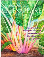Summer 2009 cover of Edible Chesapeake