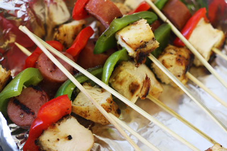 chicken kebabs cajun kebabs with chicken and cajun kebabs with chicken ...
